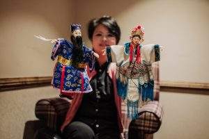 Chinese hand puppets show workshop - Evan Furlong