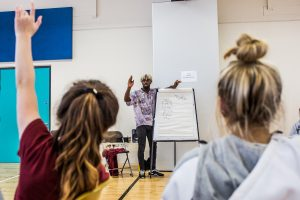Introductory youth hip-hop workshop