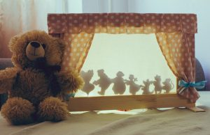 Create your own shadow theatre